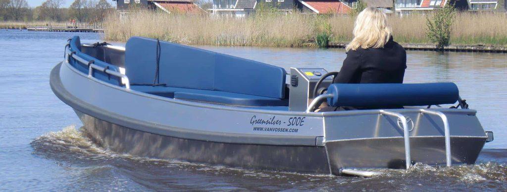 Elektrische sloep GreenSilver 500E – 1